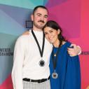 Équipe de Création publicitaire, médaille d'argent : Jean-Christophe Diaque et Andrea Garceau