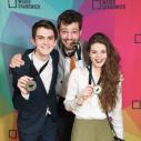 Équipe d'Improvisation, médaille d'or : Gabriel Forest, Étienne Arseneault et Marie-Ève Beauregard